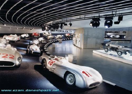 موزه مرسدس بنز در اشتوتگارت-آلمان