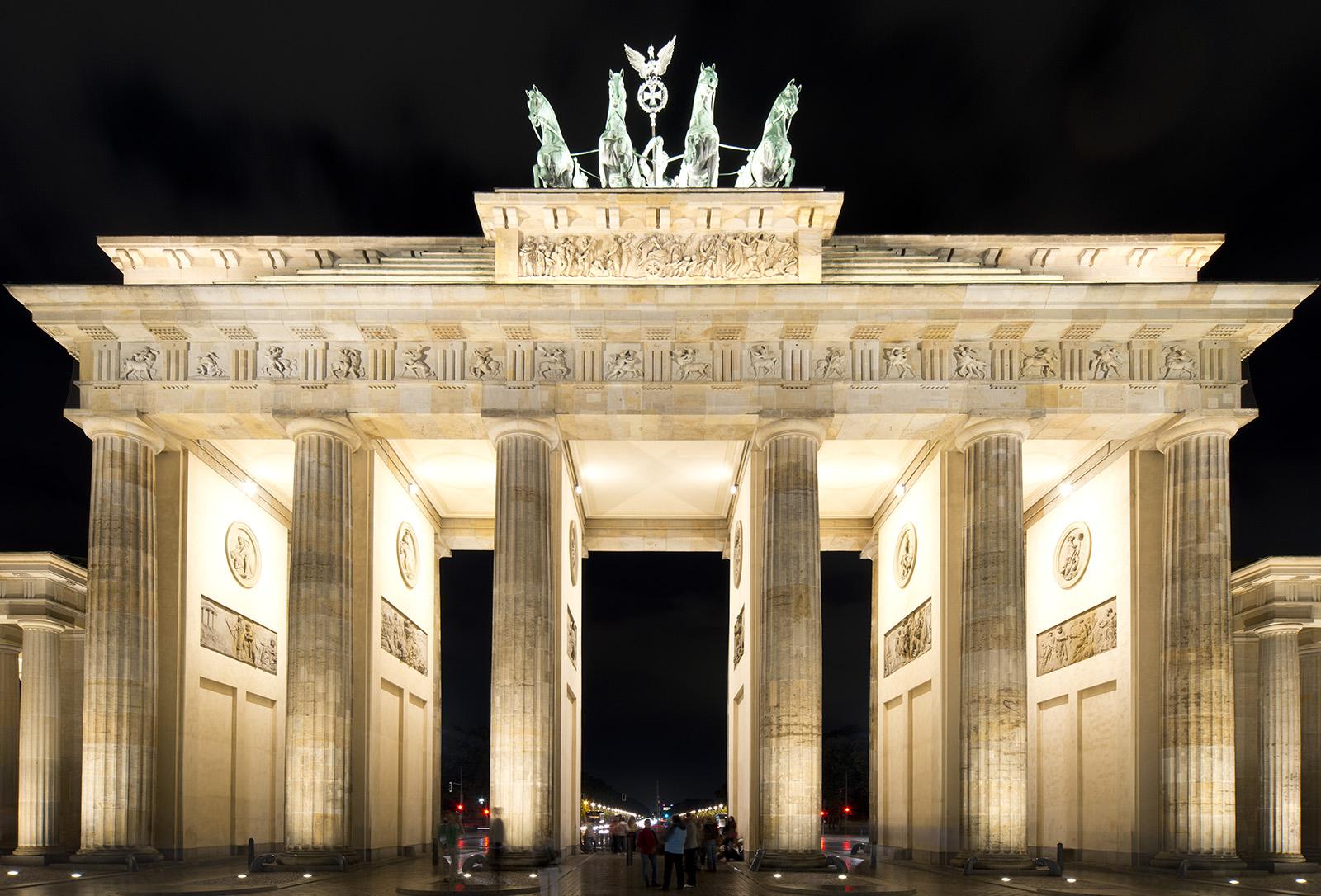 دروازه براندنبورگ-آلمان