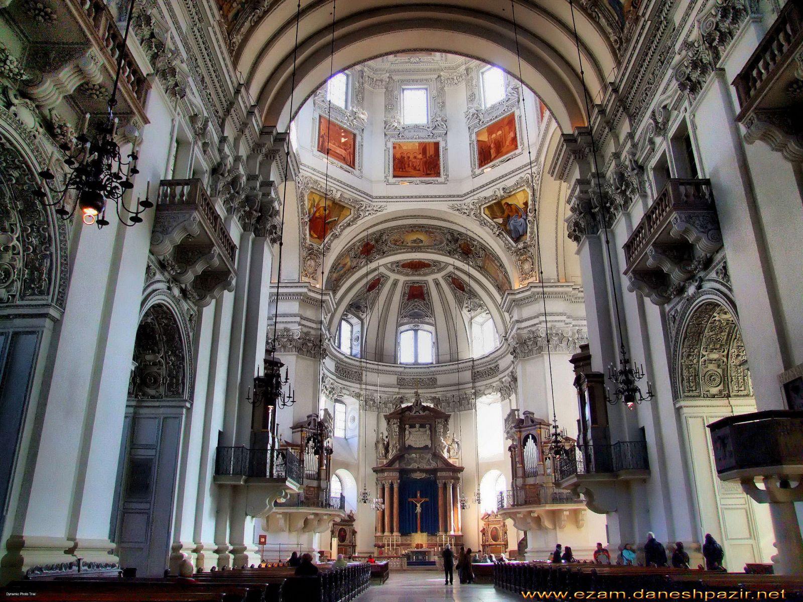 کلیسای جامع سالزبورگ در اتریش